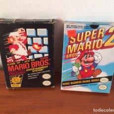 Videojuegos y Consolas: MARIO BROS Y SUPER MARIO BROS 2 NINTENDO NES. Lote 113370246