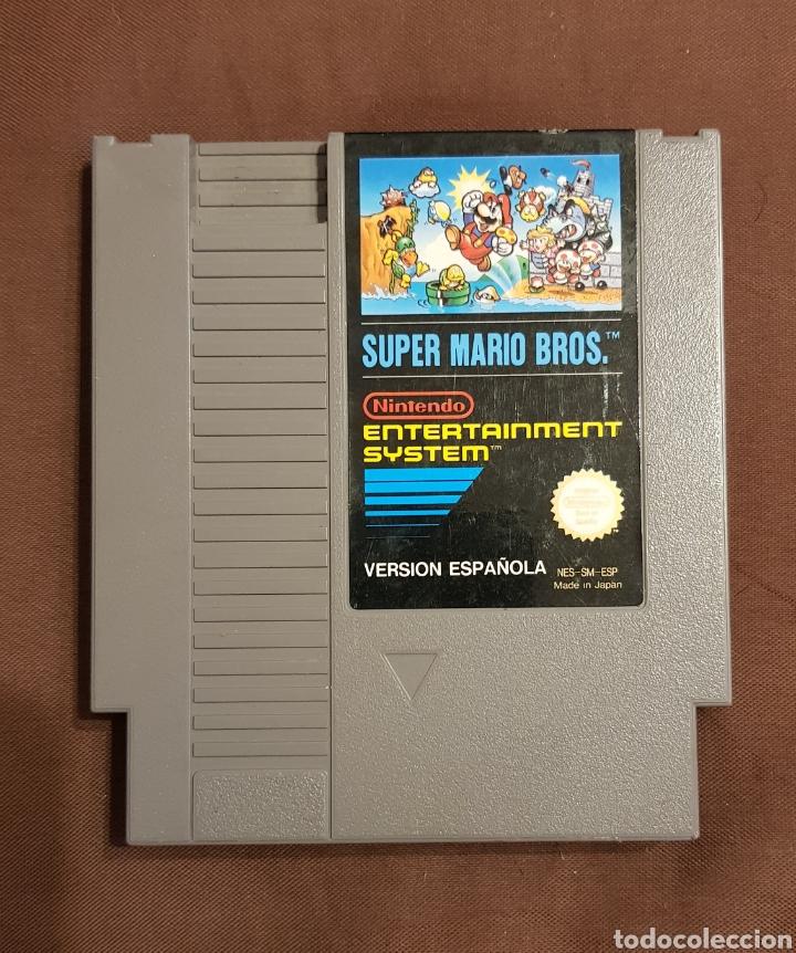 SUPER MARIO BROS NINTENDO NES VERSION ESPAÑOLA (Juguetes - Videojuegos y Consolas - Nintendo - Nes)