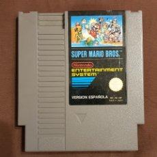 Videojuegos y Consolas: SUPER MARIO BROS NINTENDO NES VERSION ESPAÑOLA. Lote 113892967