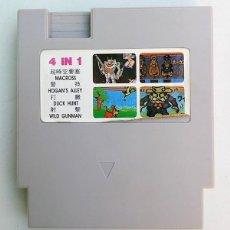 Videojogos e Consolas: VIDEOJUEGO NINTENDO NES 4 EN 1. Lote 115013139