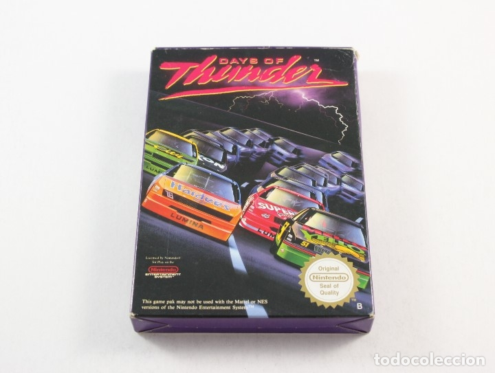 Nintendo nes -days of thunder - completo b - ne - Sold