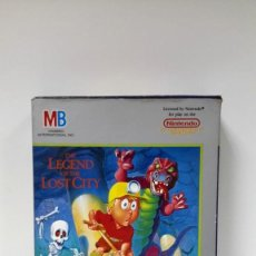 Videojuegos y Consolas: DIGGER-THE LEGEND OF THE LOST CITY-NINTENDO MB 1988-ESTRENAR. Lote 117874023