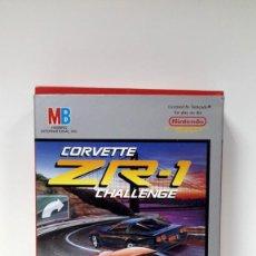 Videojuegos y Consolas: VIDEOJUEGO CORVETTE ZR-1-NINTENDO NES-MB 1990-ESTRENAR. Lote 117874031
