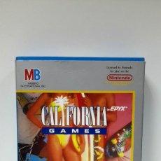 Videojuegos y Consolas: VIDEOJUEGO CALIFORNIA GAMES NINTENDO NES - MB 1988-ESTRENAR. Lote 117874059