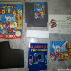 Videojuegos y Consolas: MIGHTY BOMB JACK COMPLETO ORIGINAL NINTENDO NES PAL B ESPAÑA. Lote 119043072