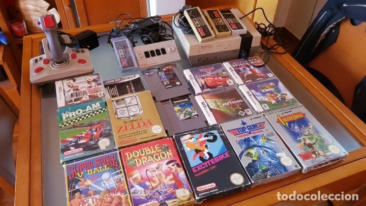 Conjunto Consola Y Juegos Nintendo Nes Zelda Ca Comprar