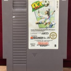 """Videojuegos y Consolas: NINTENDO NES """" KICK OF """". Lote 121359996"""