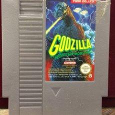 """Videojuegos y Consolas: MINTENDO NES """" GODZILLA """". Lote 121360707"""
