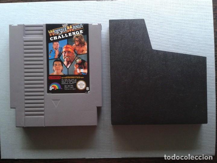 Juego Nintendo Nes Wrestlemania Challenge Pal B Comprar