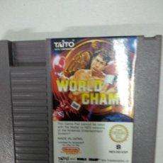 Videojuegos y Consolas: WORLD CHAMP - NINTENDO NES - PAL ESP B -. Lote 121599251