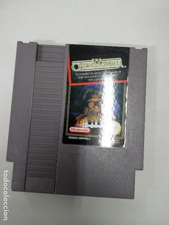 CHESSMASTER - NINTENDO NES - PAL ESP B - (Juguetes - Videojuegos y Consolas - Nintendo - Nes)