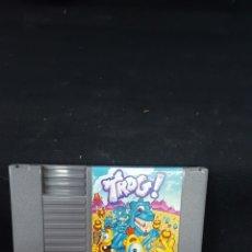 Videojuegos y Consolas: JUEGO TROG NINTENDO NES. Lote 122048699