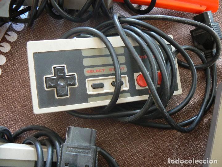 Videojuegos y Consolas: NINTENDO ENTERTAINMENT SISTEM.VERSION ESPAÑOLA.MODELO NO.:NESE-001. 1987 - Foto 5 - 122656495