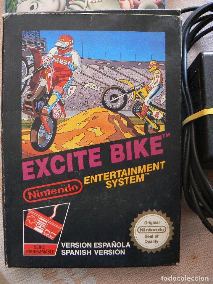 Videojuegos y Consolas: NINTENDO ENTERTAINMENT SISTEM.VERSION ESPAÑOLA.MODELO NO.:NESE-001. 1987 - Foto 7 - 122656495