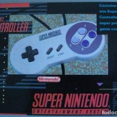 Videojuegos y Consolas: MANDO SUPER NES CONTROLLER. Lote 222568015