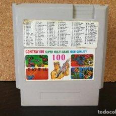 Videojuegos y Consolas: CARTUCHO CLONICO 100 IN 1 NINTENDO NES. Lote 126047335