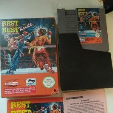 Videojuegos y Consolas: NINTENDO NES - BEST OF THE BEST KARATE CHAMPIONSHIP PAL-B. Lote 126791539