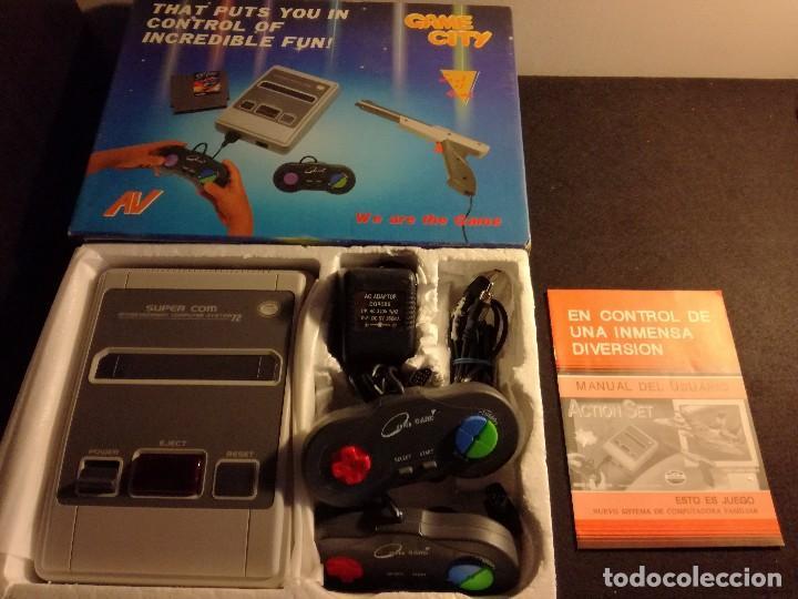 CONSOLA CLONICA NES FORMA SUPER NINTENDO JAPAN (Juguetes - Videojuegos y Consolas - Nintendo - Nes)