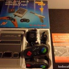 Videojuegos y Consolas: CONSOLA CLONICA NES FORMA SUPER NINTENDO JAPAN. Lote 127777547