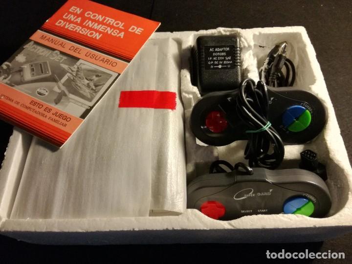 Videojuegos y Consolas: consola clonica nes forma super Nintendo japan - Foto 2 - 127777547