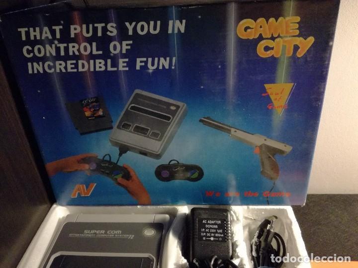Videojuegos y Consolas: consola clonica nes forma super Nintendo japan - Foto 3 - 127777547