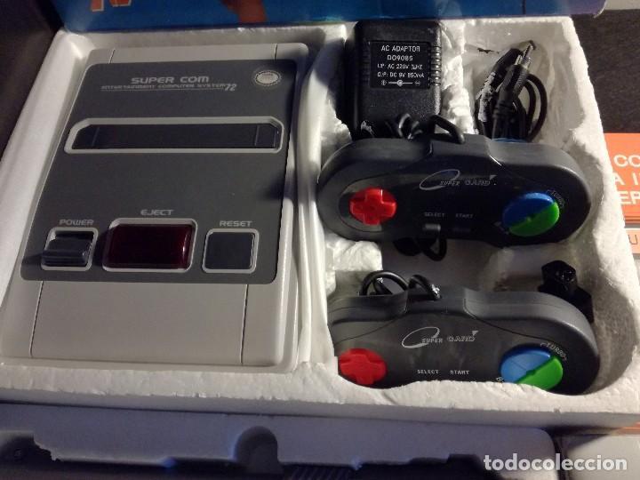 Videojuegos y Consolas: consola clonica nes forma super Nintendo japan - Foto 4 - 127777547