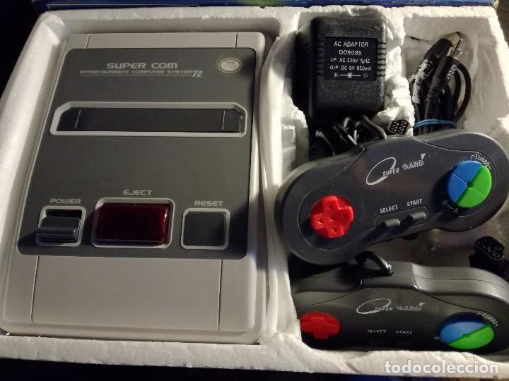 Videojuegos y Consolas: consola clonica nes forma super Nintendo japan - Foto 5 - 127777547