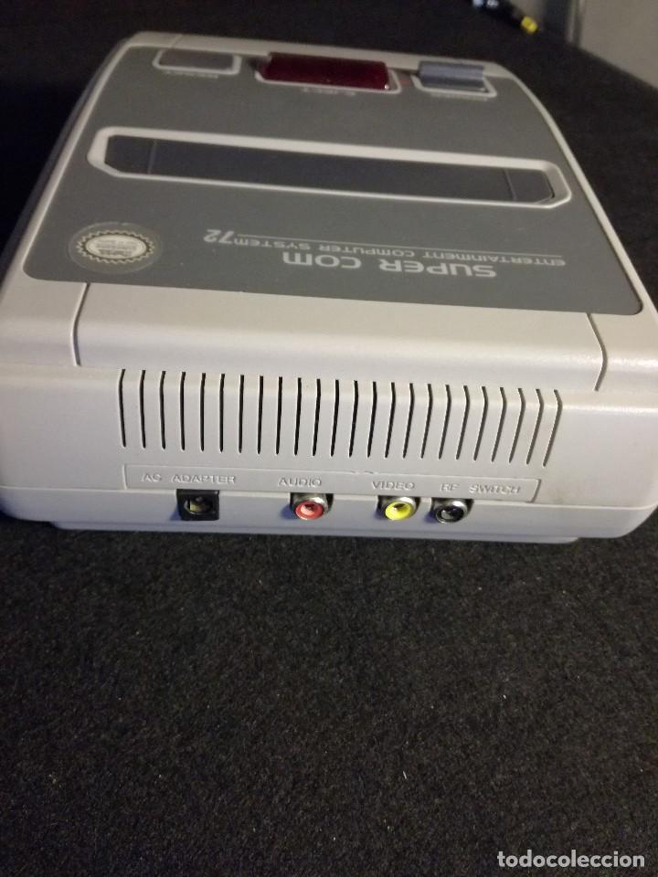 Videojuegos y Consolas: consola clonica nes forma super Nintendo japan - Foto 8 - 127777547