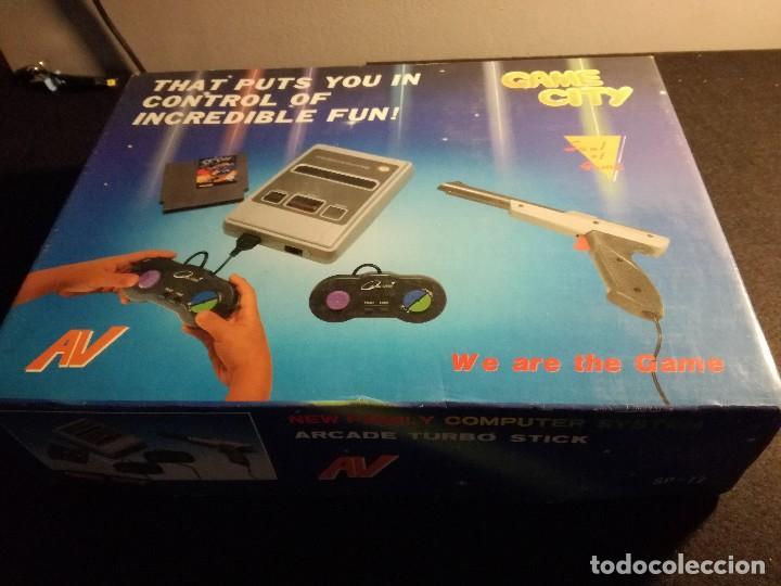 Videojuegos y Consolas: consola clonica nes forma super Nintendo japan - Foto 15 - 127777547