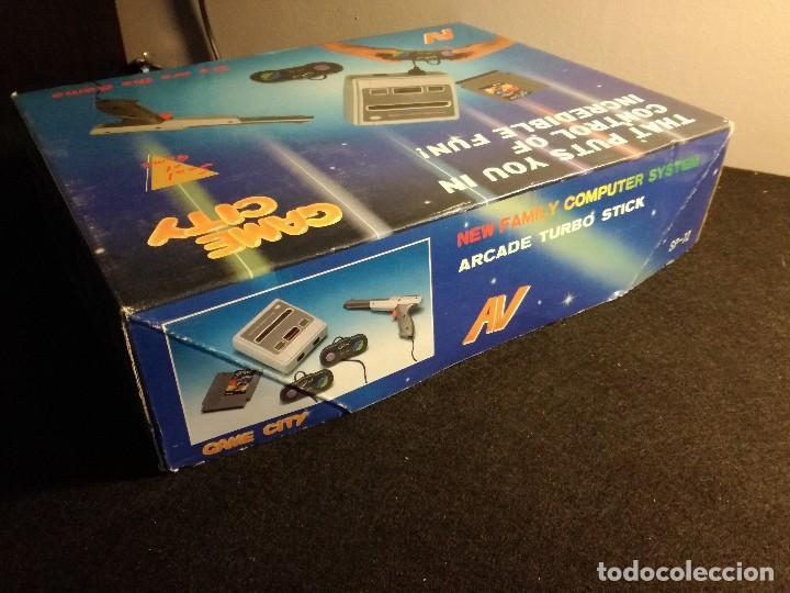 Videojuegos y Consolas: consola clonica nes forma super Nintendo japan - Foto 17 - 127777547