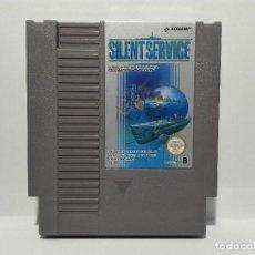 Videojuegos y Consolas: SILENT SERVICE NINTENDO NES. Lote 128361111