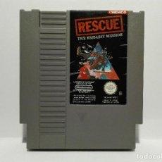 Videojuegos y Consolas: RESCUE THE EMBASSY MISSION NINTENDO NES. Lote 128361155