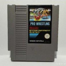 Videojuegos y Consolas: PRO WRESTLING NINTENDO NES. Lote 128361283