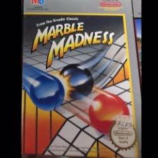 Videojuegos y Consolas: JUEGO NINTENDO NES MARBLE MADNESS PRECINTADO EN SU INTERIOR. Lote 128456812