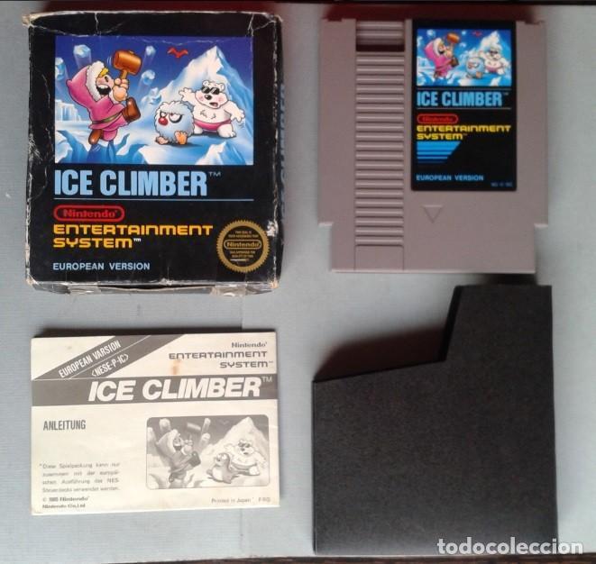 Juego Nintendo Nes Ice Climber Completo Con Caj Comprar