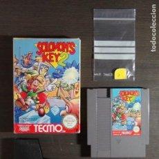 Videojuegos y Consolas: JUEGO CONSOLA NINTENDO NES SALOMON 'S KEY 2 NINTENDO NES PAL ESPAÑA. Lote 129363659