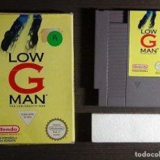 Videojuegos y Consolas: JUEGO CONSOLA NINTENDO NES LOW G MAN PAL ESPAÑA. Lote 129366231