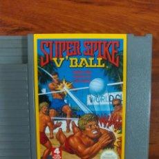 Videojuegos y Consolas: SUPER SPIKE V'BALL - VOLEIBOL - NINTENDO - NES - BUEN ESTADO. Lote 63273932
