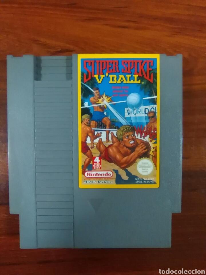 Videojuegos y Consolas: SUPER SPIKE VBALL - VOLEIBOL - NINTENDO - NES - BUEN ESTADO - Foto 2 - 63273932