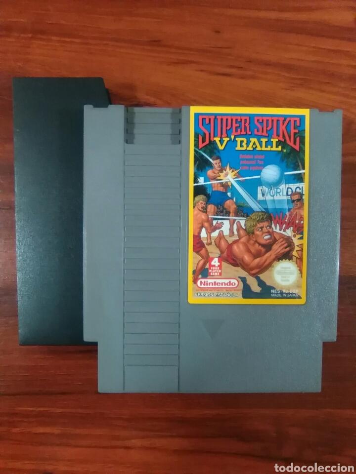 Videojuegos y Consolas: SUPER SPIKE VBALL - VOLEIBOL - NINTENDO - NES - BUEN ESTADO - Foto 3 - 63273932