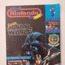 Videojuegos y Consolas: REVISTA CLUB NINTENDO DE ERBE N3/STAR WARS-PRINCIPE VALIENTE.. Lote 130331618