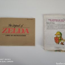 Videojuegos y Consolas: MANUAL Y MAPA THE LEGEND OF THE ZELDA NES. Lote 130920079