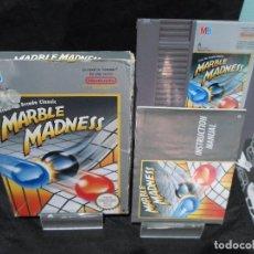 Videojuegos y Consolas: JUEGO MARBLE MADNESS NINTENDO NES. Lote 131000504