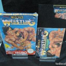 Videojuegos y Consolas: JUEGO TECMO WORLD WRESTLING NINTENDO NES. Lote 131000556