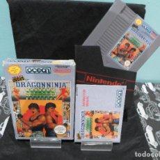 Videojuegos y Consolas: JUEGO BAD DUDES VS DRAGON NINJA NINTENDO NES. Lote 131000632