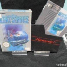 Videojuegos y Consolas: JUEGO SILENT SERVICE SIN MANUAL NINTENDO NES. Lote 131000744