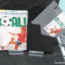 Videojuegos y Consolas: JUEGO GOAL! SIN MANUAL NINTENDO NES. Lote 131000844