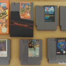 Videojuegos y Consolas: LOTE JUEGOS NINTENDO NES (VER DESCRIPCIÓN). Lote 131464662