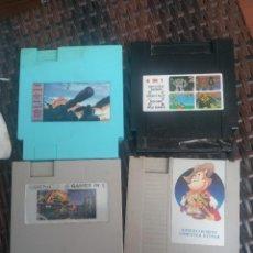 Videojuegos y Consolas: LOTE PACK CARTUCHOS CLÓNICOS NINTENDO NES. Lote 132641810