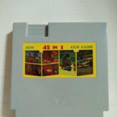 Videojuegos y Consolas: VIDEOJUEGO NES-42 EN 1. Lote 132839718